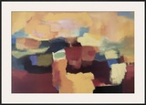 Landscape for the Muse Framed Giclee Print by Nancy Ortenstone