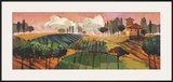 Tuscan Landscape Poster by Pascal Milelli
