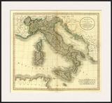 Italy, c.1799 Poster by John Cary