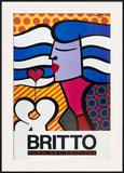 Love is not Easy Posters by Romero Britto