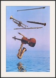 Music on High Prints by Harvey Edwards