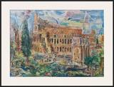 The Colosseum, Rome Prints by Oskar Kokoschka