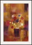 Welcoming Flowers II Framed Giclee Print by Nancy Ortenstone