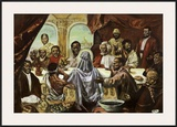 Last Supper Prints by Cornell Barnes