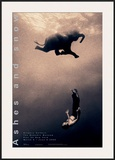 Gregory Swimming with Elephant, New York Posters por Gregory Colbert