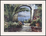 Rose Arch Prints by Peter Bell