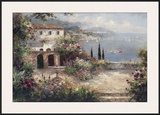 Mediterranean Villa Posters by Peter Bell
