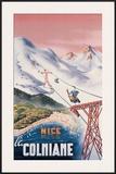 Nice la Colmiane Framed Giclee Print by  Mandoni