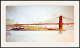 Brooklyn Bridge Prints by David Lingwood