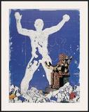Pieta vor Koloss Prints by Klopries Kleine