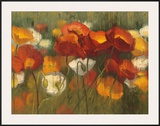 The Power of Red II Print by Shirley Novak