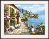Overlook Cafe I Prints by Sung Kim