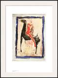 Roter Reiter Poster by Marino Marini