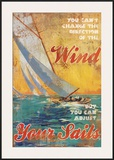 Adjust Your Sails Print by Dawna Barton