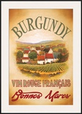 Burgundy Posters by Val Bustamonte