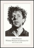 Large Phil Fingerprint, 1979 Posters by Chuck Close