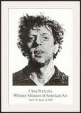 Large Phil Fingerprint, 1979 Posters by Chuck Close