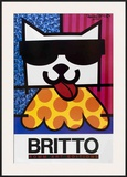 Cat with Sunglasses Prints by Romero Britto