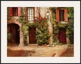 Villa Frascati Poster by Roger Duvall