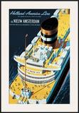Holland America Line Framed Giclee Print