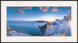 Mykonos Sunset Print by Georges Meis