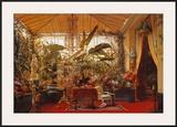 Veranda de la Princesse Mathilde Prints by Charles Giraud