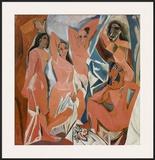 Les Demoiselles d'Avignon, c.1907 Print by Pablo Picasso