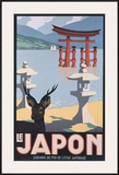 Le Japon Framed Giclee Print by P. Erwin Brown