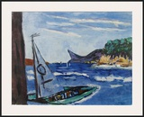 Pic d'Aigle Posters by Max Beckmann