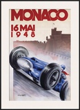 Monaco, May 1948 Poster by Geo Ham