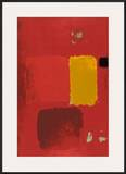 Cadmium Painting Posters by Patrick Heron
