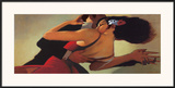 Tango Dancers Prints by Bill Brauer