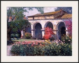 Capistrano Mission Delight Art by Kent Wallis