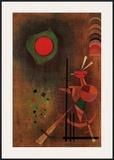 Aufleuchten Poster by Wassily Kandinsky