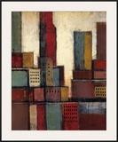 City Block Skyline II Print by Joel Holsinger