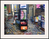 Times Square and Advertising Signs Posters by José Fuste Raga