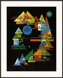 Spitze in Bogen, c.1927 Prints by Wassily Kandinsky