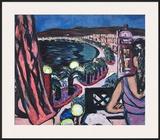 Promenade des Anglais À Nice Art by Max Beckmann