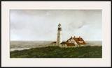 Above Portland Light Prints by Douglas Brega