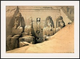 Temple of Abou Simbel Prints by David Roberts