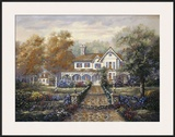 Marissa's Playhouse Garden Prints by Carl Valente
