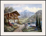 High Country Retreat Prints by Carl Valente