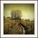 Another Place I Framed Giclee Print by Crina Prida