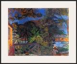 La Terasse, 1928 Print by Pierre Bonnard