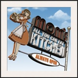 Mom's All-You-Can-Eat Kitchen Framed Giclee Print by Anthony Ross