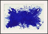 Hommage a Tennessee Williams Posters by Yves Klein