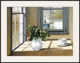 Morning Coffee Framed Giclee Print by Zhen-Huan Lu