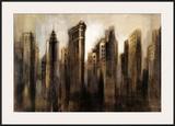 Flatiron Skyline Art by Silvia Vassileva