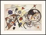 Durchgehender Strich Poster by Wassily Kandinsky