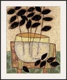 Leaf Vase I Art by Penny Feder
